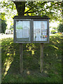 TM0649 : Offton Village Notice Board by Adrian Cable