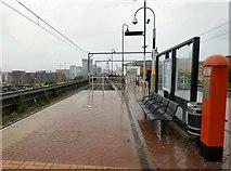 SJ8297 : Cornbrook Tram Stop by Gerald England