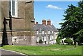 H8745 : Houses in Cathedral Close, Armagh by Eric Jones