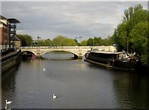 TL1998 : The A15 crosses the River Nene by Steve Daniels