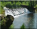 SP2556 : Weir in Charlecote Park by Rob Farrow