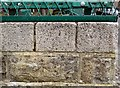 SJ9494 : A cut bench-mark on Tower Street, Hyde by Gerald England