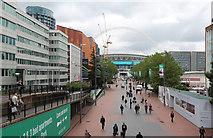 TQ1985 : Wembley Stadium by John Salmon