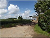 TM0850 : Winneygreen Farm, Nettlestead by Adrian Cable