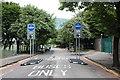 NJ9308 : Bus gate by Bill Harrison