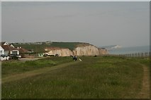 TQ4200 : Clifftop park, Peacehaven Heights by Chris