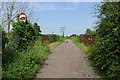TQ0372 : Footpath to Staines Moor by Alan Hunt