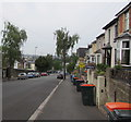 ST3288 : Orange-lidded wheelie bins, Victoria Avenue, Newport by Jaggery