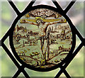 TL0117 : St Mary Magdalene, Whipsnade - Roundel by John Salmon