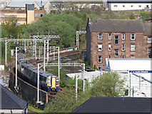 NS2875 : Railway line at Dellingburn by Thomas Nugent
