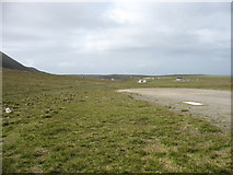 HT9737 : Foula from the north end of the airstrip by David Purchase