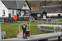NH6140 : Dochgarroch : Caledonian Canal Dock by Lewis Clarke