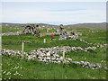 NF7536 : Chapels at Howmore/Tobha Mòr by M J Richardson