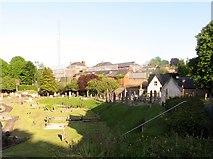 H8845 : Gough Barracks from the graveyard of St Mark's Parish Church by Eric Jones