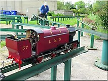 NZ2465 : Model railway, Exhibition Park, Newcastle upon Tyne by Andrew Curtis