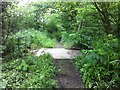 SS4107 : Green lane bridge by Hugh Craddock