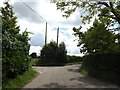 TM0847 : Flowton Road & Bridleway by Adrian Cable