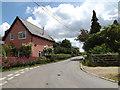 TM0846 : Tye Lane, Flowton by Adrian Cable
