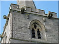 TF0041 : Gargoyles and grotesques on the tower of St Andrew's Church, Kelby by Marathon