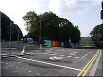 SE2436 : The new road into the Kirkstall Forge site from Abbey Road by Rich Tea
