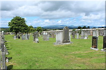 NX4355 : Wigtown High Cemetery by Billy McCrorie