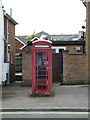 TM1246 : Telephone Box off the B1067 The Street by Adrian Cable