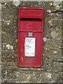 NY1133 : Post box, Bridekirk by Graham Robson