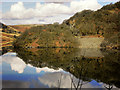 SN9067 : Cronfa Ddŵr (Penygarreg Reservoir) by David Dixon