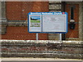 TM1246 : Bramford Methodist Church Notice Board by Adrian Cable