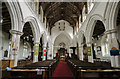 TF8709 : Interior, All Saints' church, Necton by Julian P Guffogg
