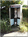 TM1246 : Telephone Box on Paper Mill Lane by Adrian Cable