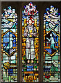 SP9620 : St Mary, Eaton Bray - Stained glass window by John Salmon