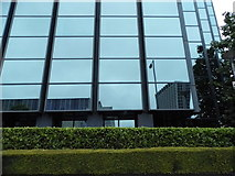 TQ3265 : Mirrored block on Barclay Road, Croydon by David Howard
