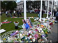 TQ3079 : Flowers and tributes for Jo Cox MP in Parliament Square, London by Richard Humphrey