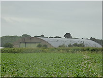 SJ5622 : Hangar at RAF Shawbury by Jeremy Bolwell