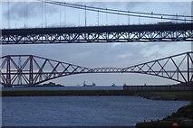 NT1278 : Forth Bridges by Richard Webb
