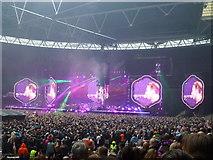 TQ1985 : Coldplay - A Head Full of Dreams Tour - Wembley Stadium - 5 by Richard Humphrey