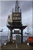 NT1278 : Crane, Port Edgar by Richard Webb