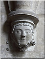 SP9957 : St Mary, Felmersham - Corbel by John Salmon
