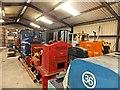 SH5739 : Narrow gauge locomotives awaiting restoration (2) by Richard Hoare