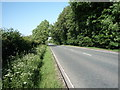 NY3652 : A595 beside Sowerby Wood by JThomas