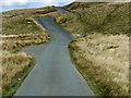 SN8674 : Passing Place on the Road through Elan Valley near Bodtalog by David Dixon
