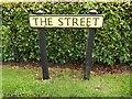 TL9578 : The Street sign by Adrian Cable
