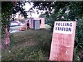 SZ0795 : East Howe: referendum polling station by Chris Downer