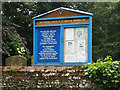 TL9676 : St.Andrew's Church Notice Board by Adrian Cable