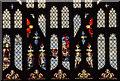 TG1124 : Detail of East window, Ss Peter & Paul church, Salle by Julian P Guffogg