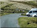 SN8575 : Parking Spot near Gors Lwyd by David Dixon