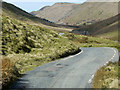 SN8475 : Cwm Ystwyth between Esgair Elan and Yr Allt by David Dixon