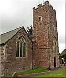 ST0310 : St Mary's Church, Willand by Roger Cornfoot