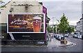 J5081 : Advert, Bangor by Rossographer